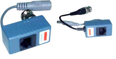 Передача видеосигнала Комплект передачи НЧ-видеосигнала по витой паре